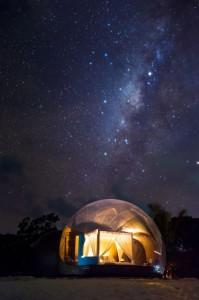 Beach Bubble - Milky Way